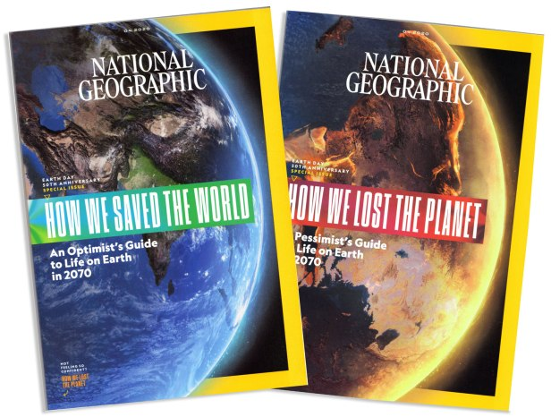 National Geographic Earth Day 2020 covers